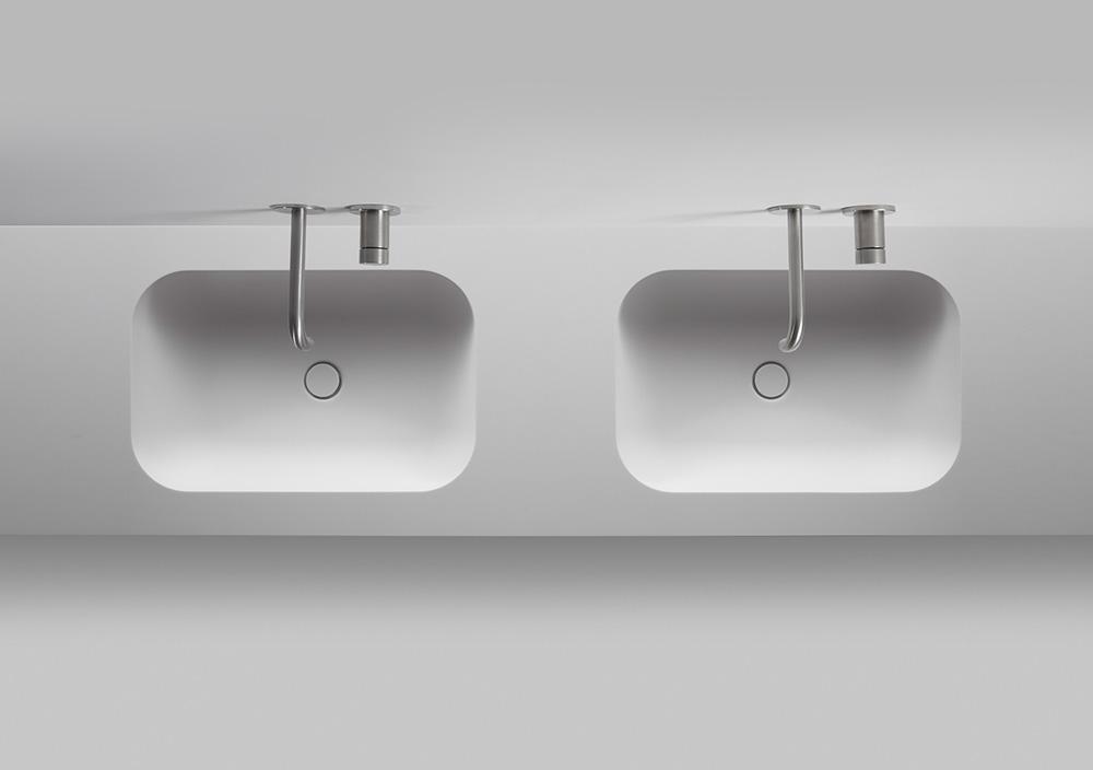 TIZ DESIGN - Dubbele wasbak Den Burg badkamer