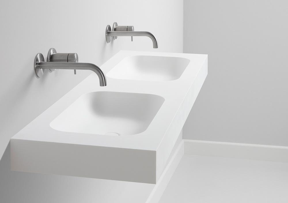 TIZ DESIGN - Dubbele design wastafel Den Burg