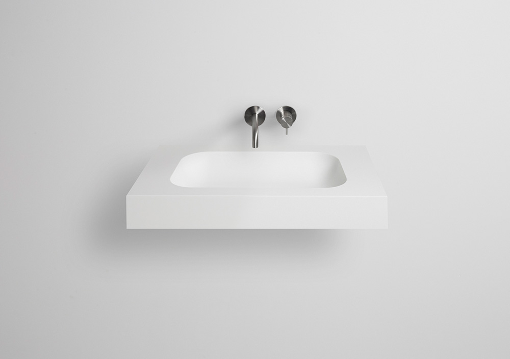 TIZ DESIGN - Solid surface wastafel Den Burg