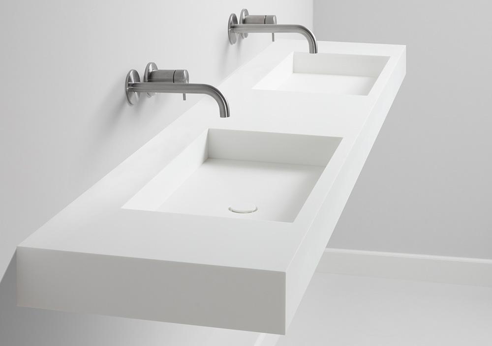 TIZ DESIGN - Dubbele design wastafel Den Helder